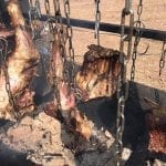 בשר בשרשראות על האש - צ'ורסקו