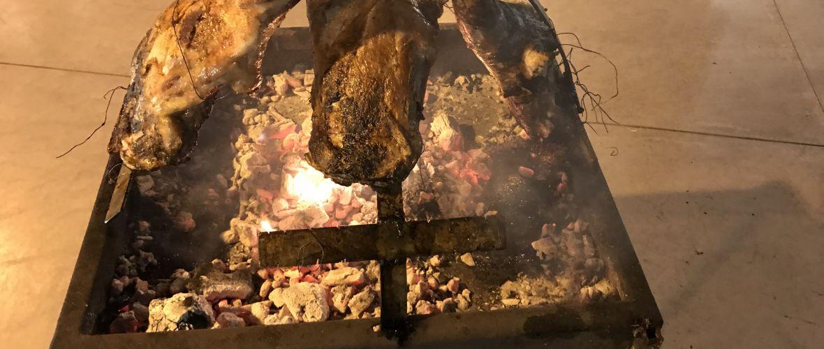 מנגל חרבות באירוע חינה באשדוד-צ'ורסקו