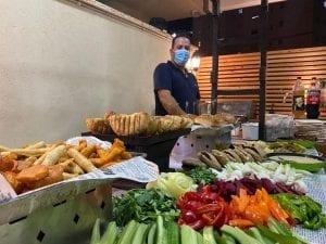 שולחן שוק בבר מצווה-צורסק'ו